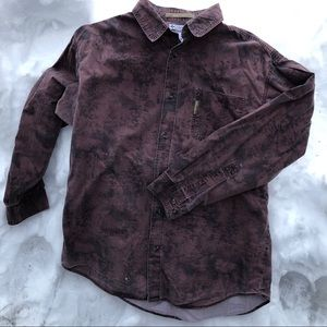 Men's Columbia Long Sleeved Button Down